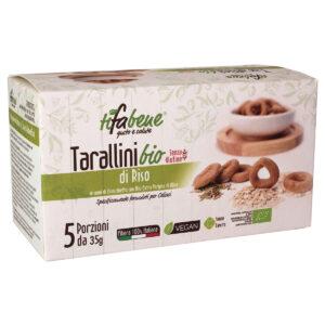 Tarallini bio di Riso senza glutine
